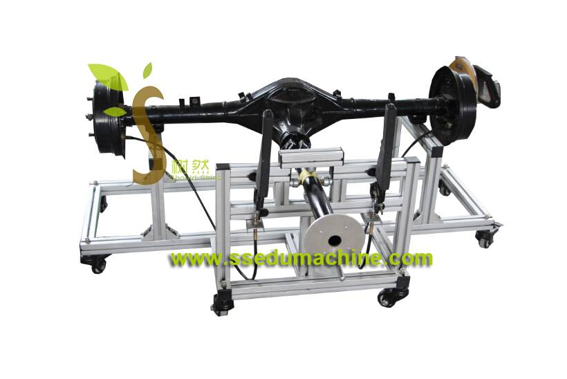 Automobile Final Drive Trainer Vehicle Training Equipment Automobile Workshop Didactic Equipment