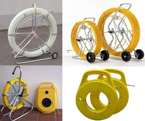 Duct Rodder,Fish Tapes, conduit snakes