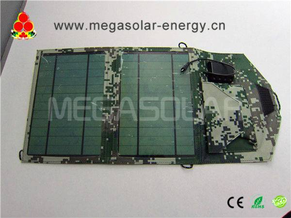 10W Flexible Solar Charger for Android Smart Phones