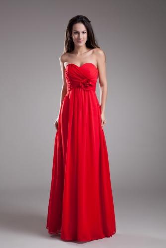 Apple Red Bridesmaid Dresses-2020