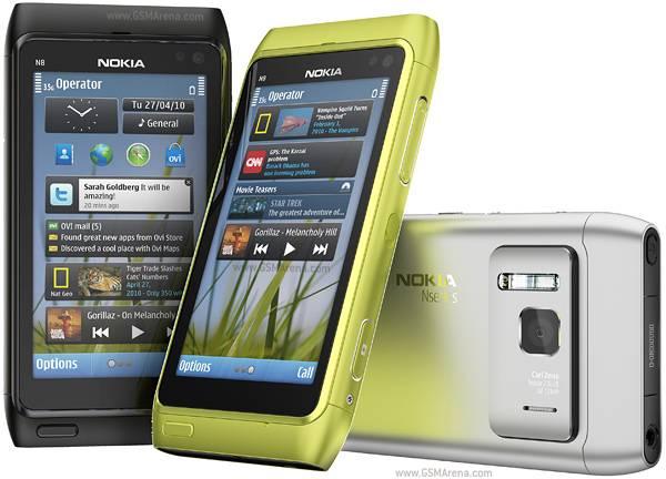 Original unlocked GSM mobile phones Nokia N8