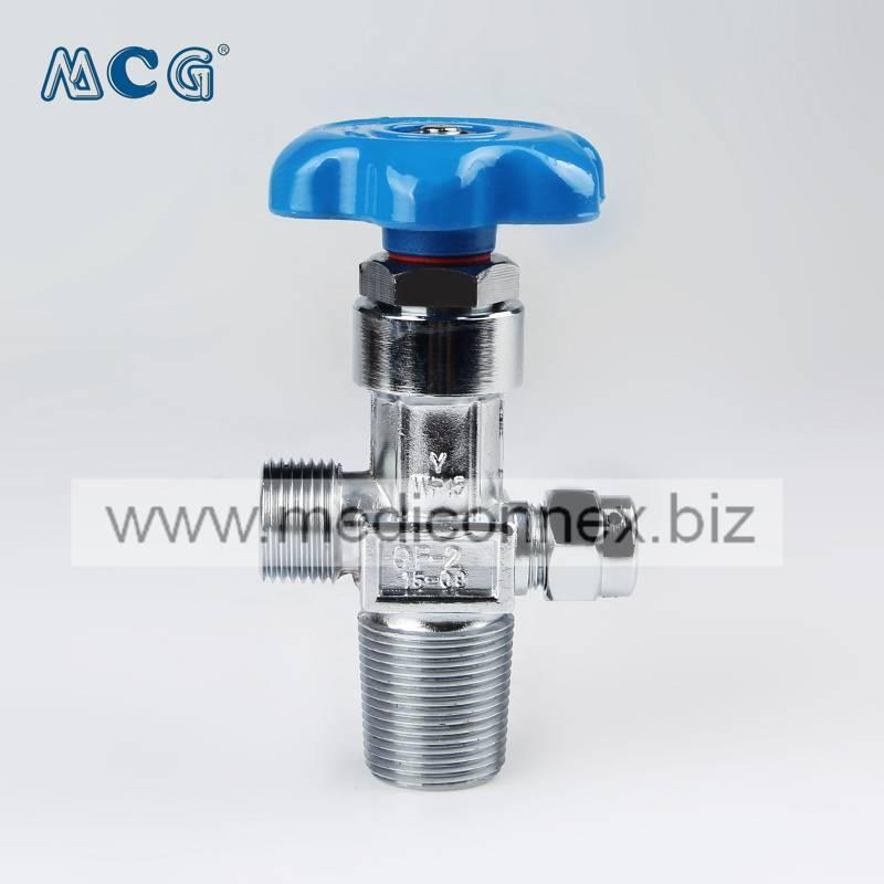 oxygen cylinder valve