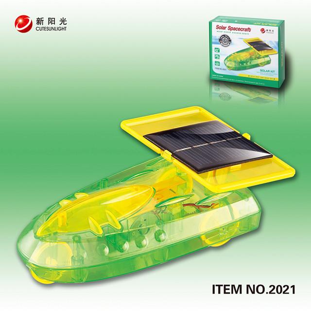 DIY Solar Spaceship