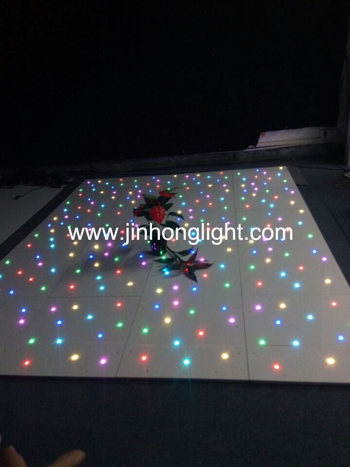 RGBW 4in1 colorful led tiles led starlit dance floor