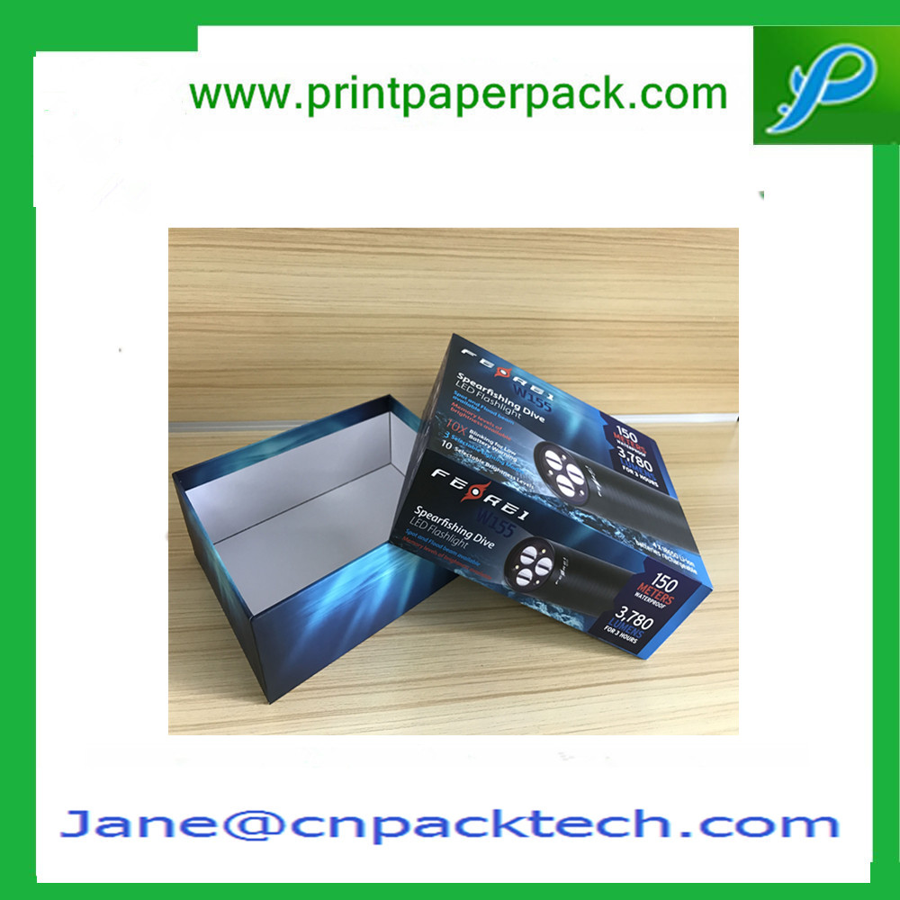 Custom Two Pieces Boxes Set up Rigid Cardboard Boxes Paper Gift Box