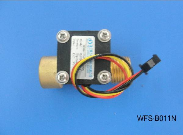 High temperature resistant all copper water flow sensor WFS-B011N