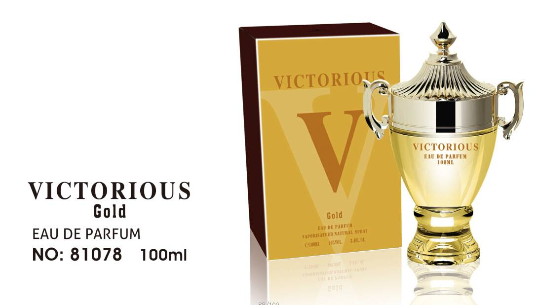 VICTORIOUS Gold Man Original Perfume