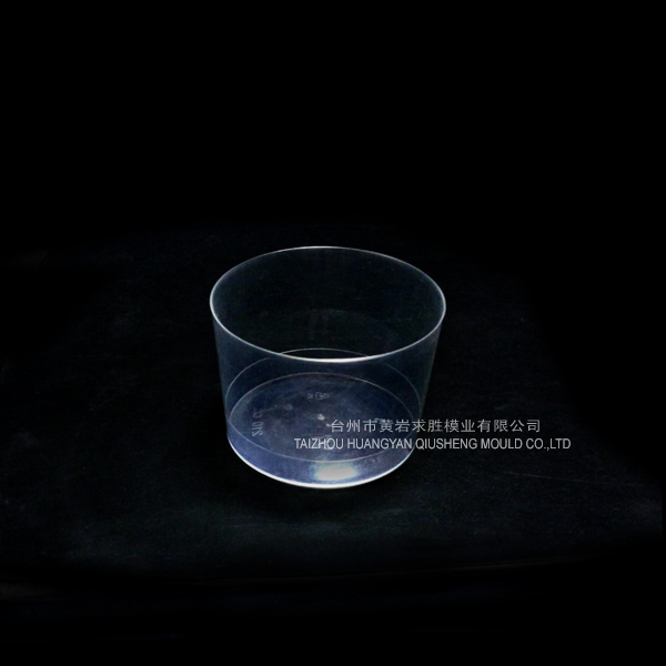 ps transparent round dessert cup container plastic mould