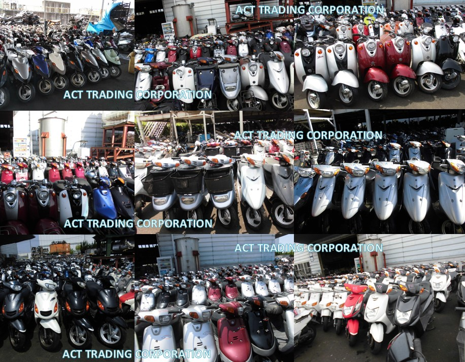 USED YAMAHA SCOOTER FROM JAPAN