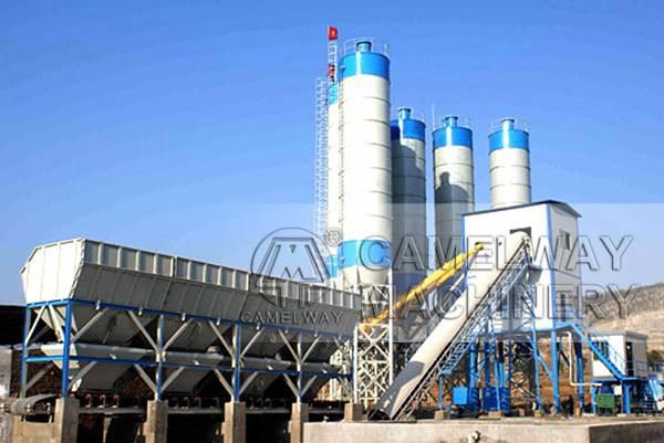HZS 90 concrete batching plant