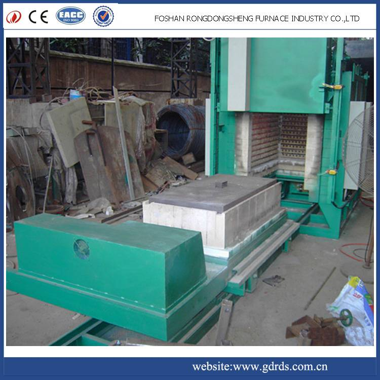 electric annealing resistance trolley furnace in industrial