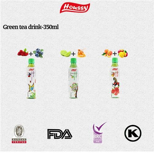 Houssy 350ml lemon green tea drinks