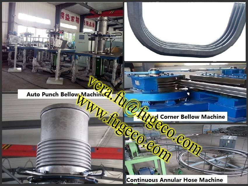 Square Corner bellow bending machine