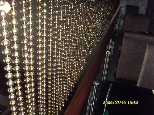 metal beaded chain curtain