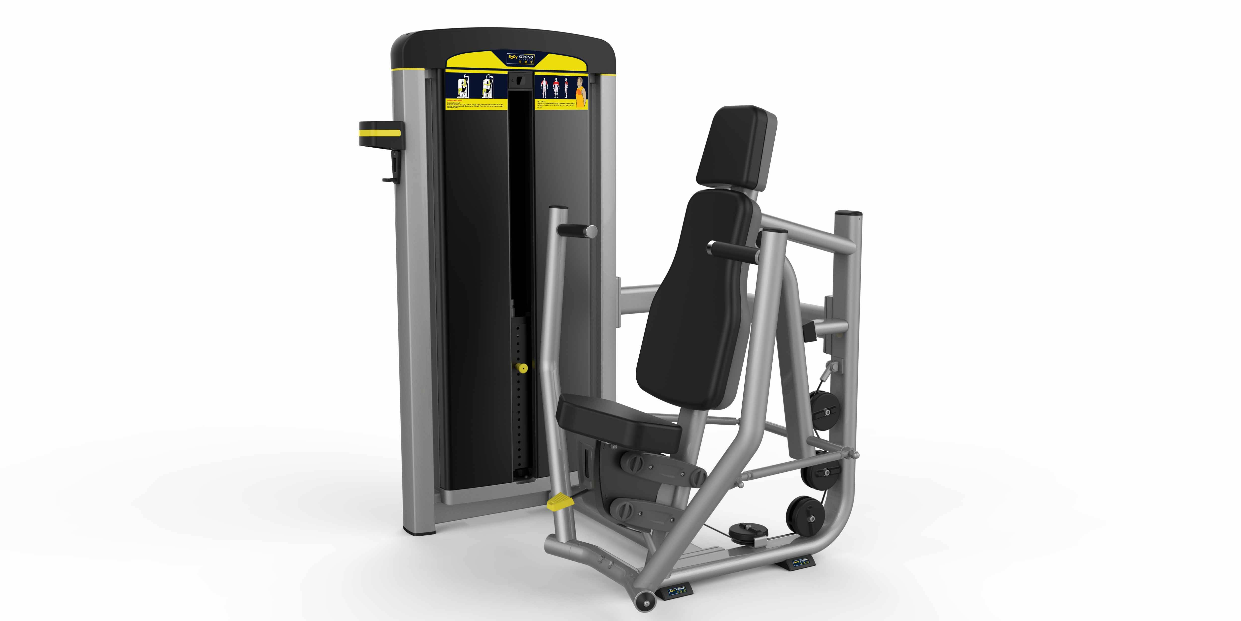 CE and ROHS Approved Fitness Equipment Seated Chest Press Machine