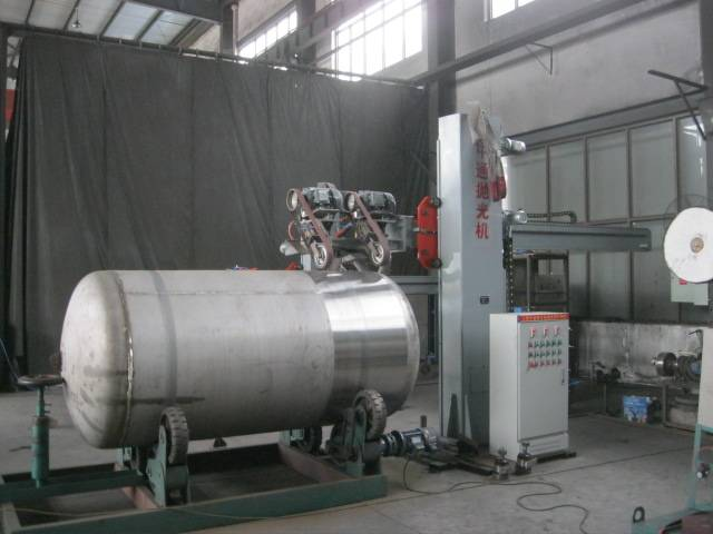 Stainless steel shell grinding machine