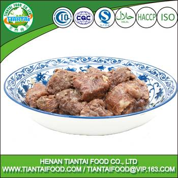 HALAL buffalo meat steamed beef