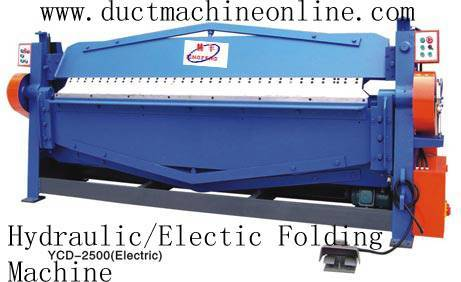 Hydraulic/Electric Folding Machine