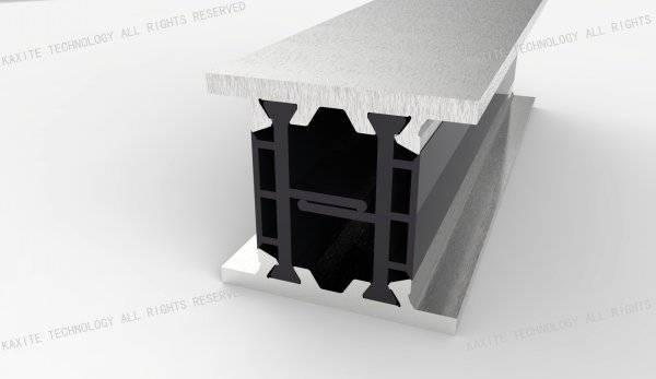 polyamide thermal break strip for sash window