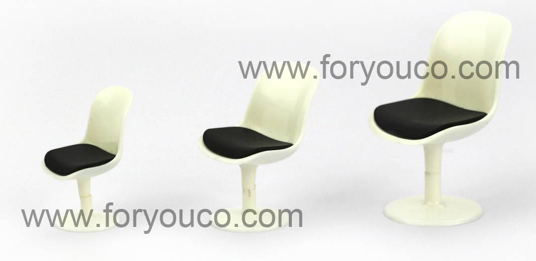 Designer Mini Chair Tulip Chair for Architectural models Design