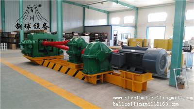 Hot Rolled Steel Ball Rolling Machine