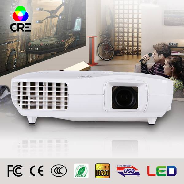 CRE X2000VX 3LED 3LCD FULL HD 1080P 3000LUMENS PROJECTOR