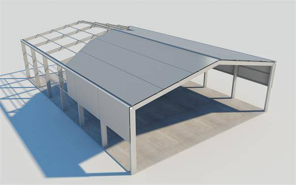Industrial Steel Building for Warehouse