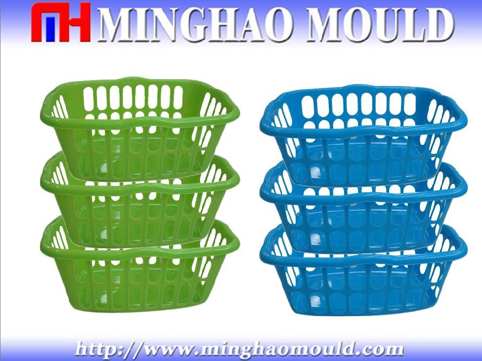 Injection Plastic Basket Mold