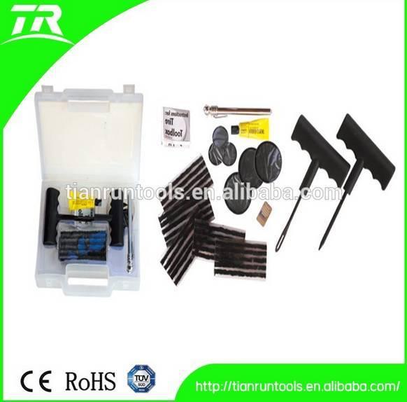 portable vacuum tire repair kit for automobile body repair hand tools