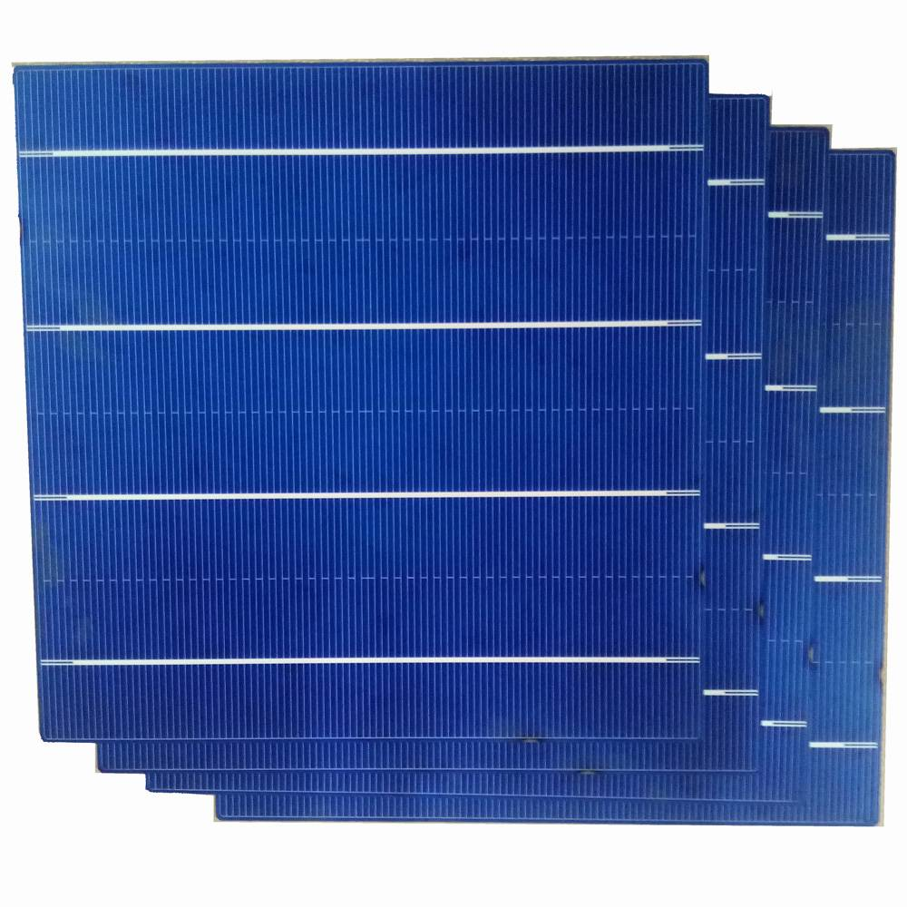 poly crystal silicon 156*156mm 4BB solar cell