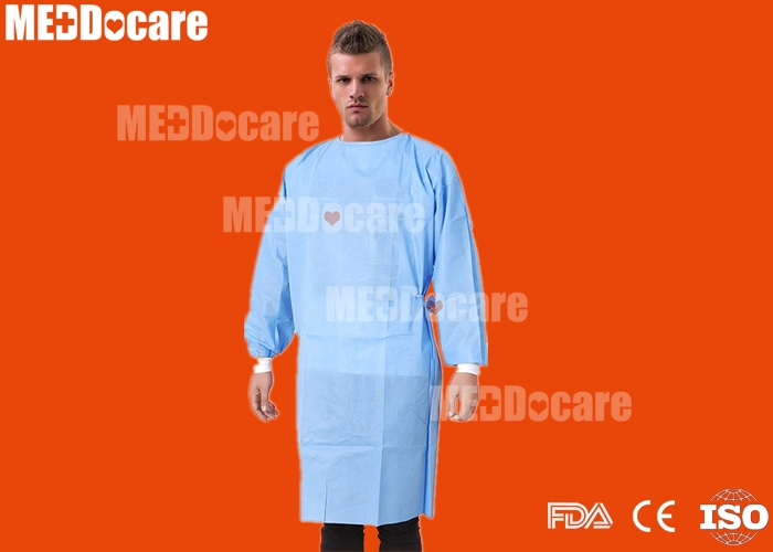 disposable soft ware non woven sms waterproof surgical gown
