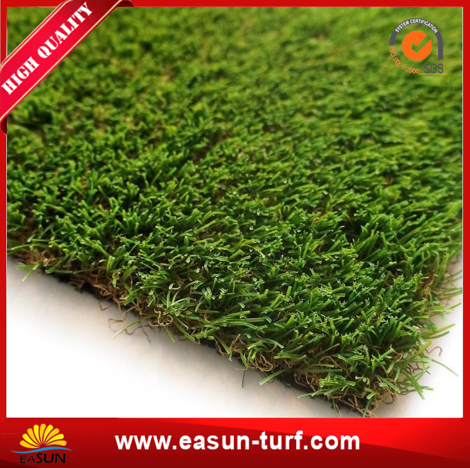 Olive Green Garden Grass Synthetic turf from China-AL