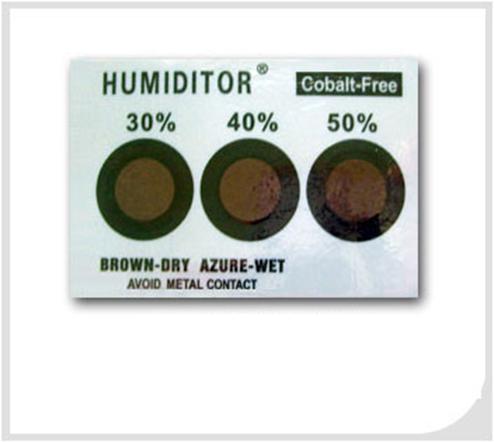 3 Dots Humidity Indicator Card HIC-3