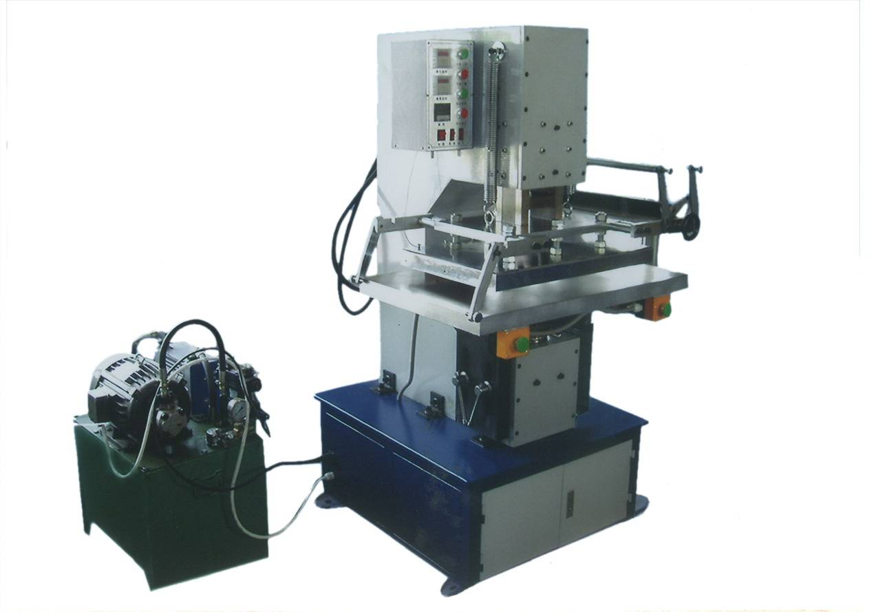 TJ-57 hydraulic carton box hot foil stamping embossing machine