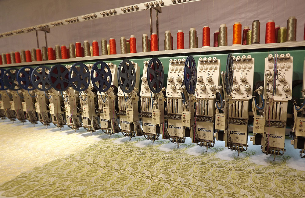 Computerized Wallpaper Embroidery Machine