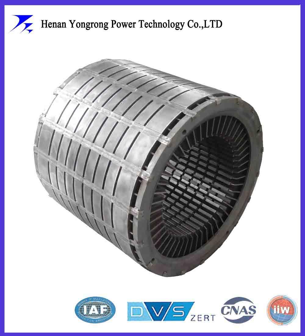 Generator rotor laminated core