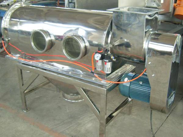 Centrifugal sifter for sifting, scalping and de-agglomerating of fines or micro powder