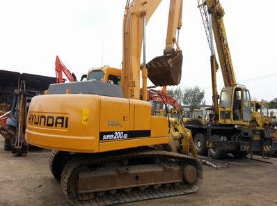 Used Hyundai 200-5D Excavator, Used Excavator 200-5D for Sale