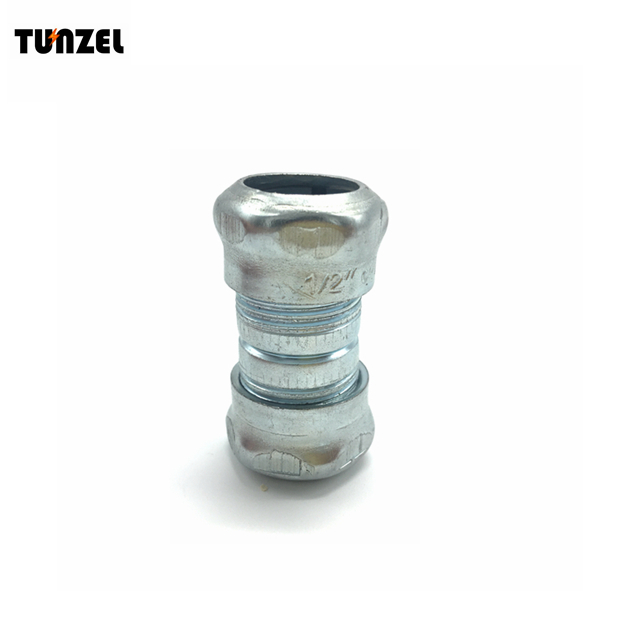 Cable wire electrical 1/2 emt compression coupling by Chinese supplier
