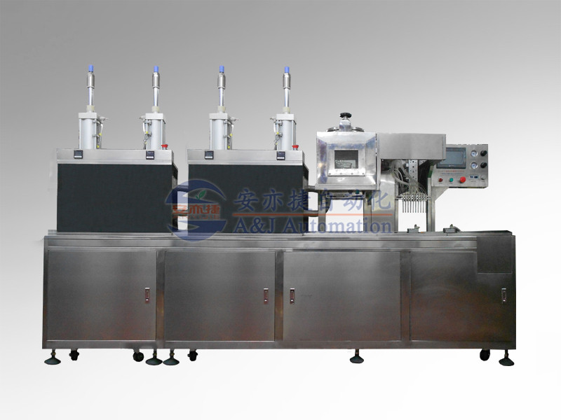 Automatic Filling and Atomizing Machine with 10 Nozzles