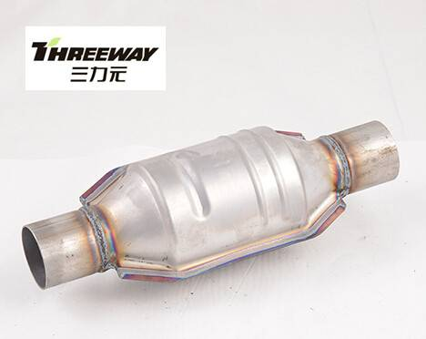 Small Volume Universal Catalytic Converter fit for Hyundai Matiz