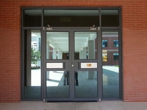 Whole sale best price China supplier glass aluminum cafe door