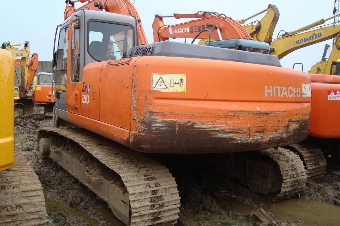used Hitachi excavator ZX210-HHE