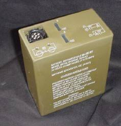 Rechargeable Nickel Hydride Military Battery BB-390A/U