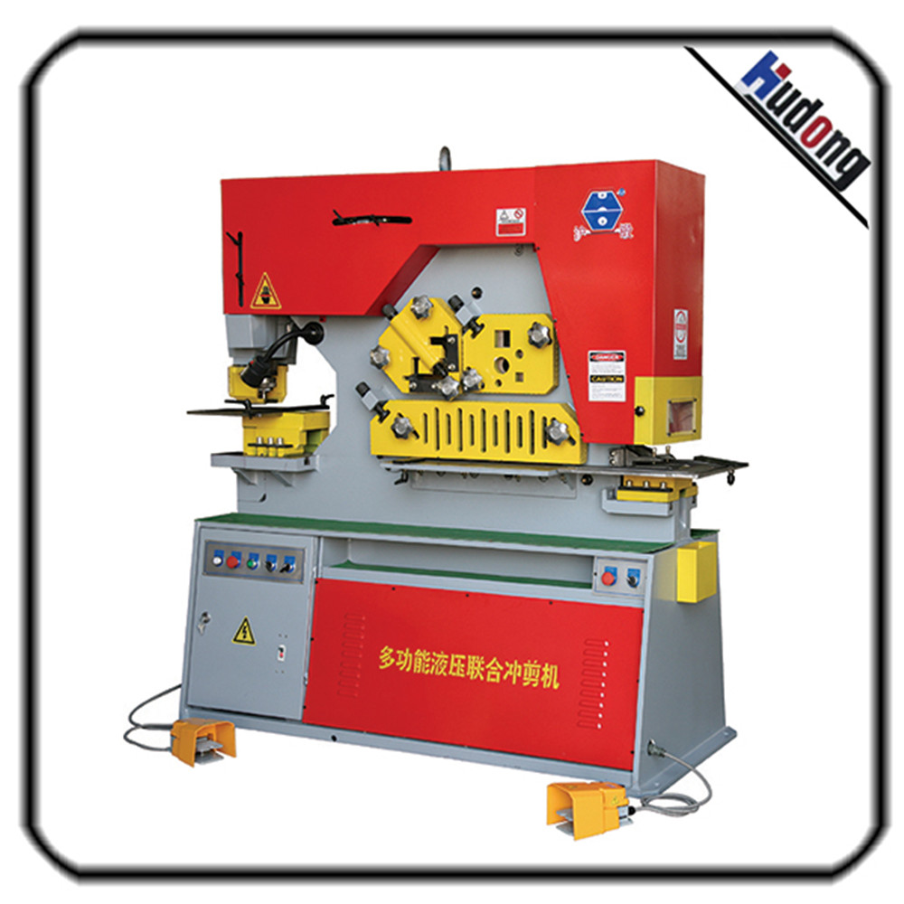 Hot sale hydraulic multi-purpose ironworker machine