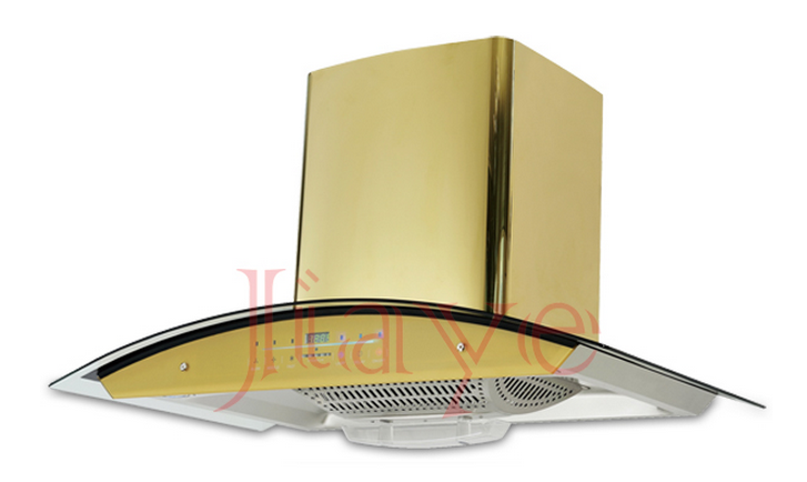 China supplier Hot sell yellow range hood