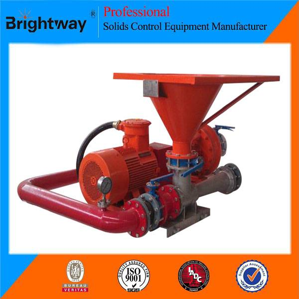Brightway Solids Mixing Hopper and Jet Mud Mixer