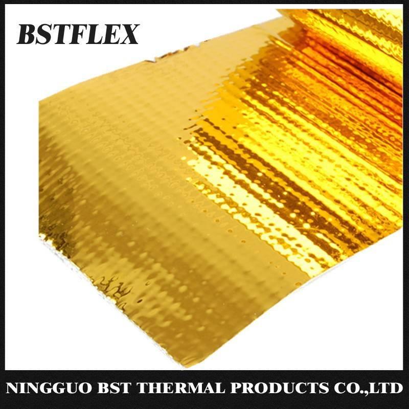 Reflective Gold Heat Shield Heat Barrier