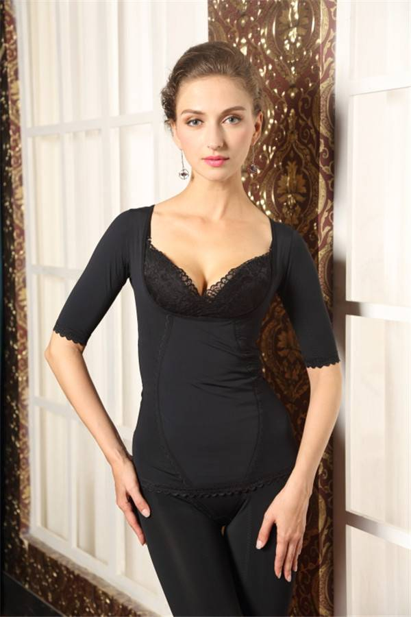 Tourmaline Revolutional Slim sexy fashion ajustable  bra corset and long girdle for women