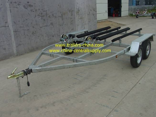 4.2m double jet ski trailer with bunk system